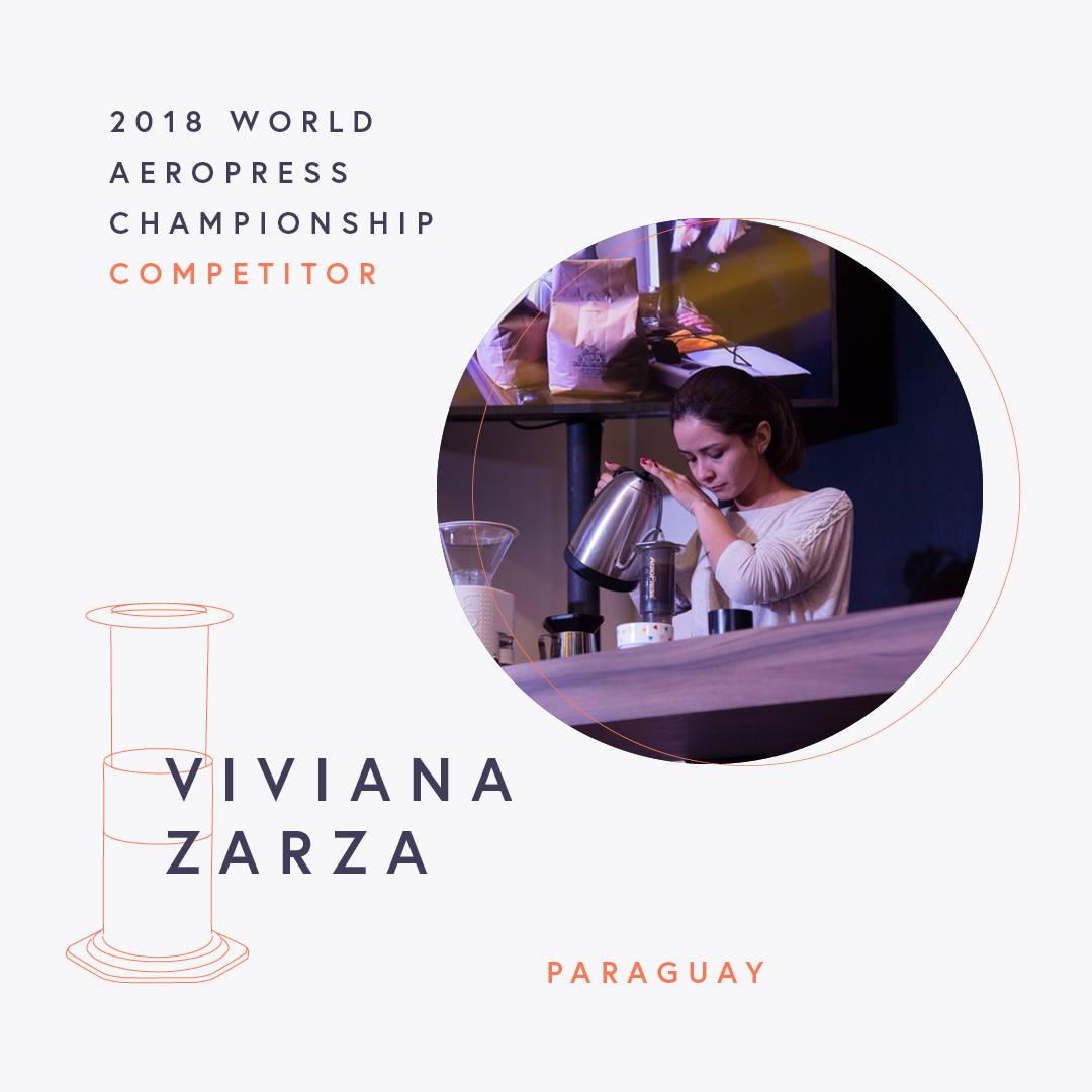 The World AeroPress Championships: Viviana Zarza