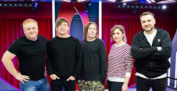 Группа «Би-2» в гостях у «Русских Перцев» - Новости радио OnAir.ru