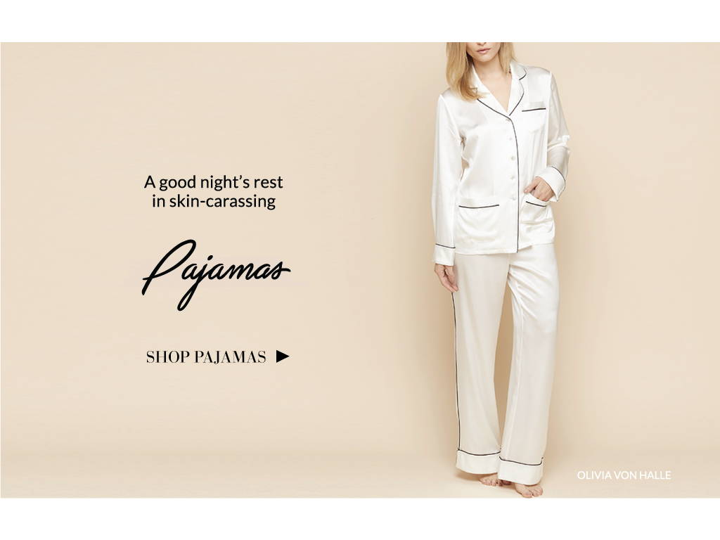 Mother's Day papajams for mom, a good night's rest in skin carassing pajamas olivia von halle