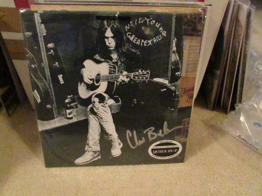 "Neil Young - Greatest Hits with 7"" Colored Vinyl single Classic Records 200g Quiex SV-P Sealed - 3 records total"