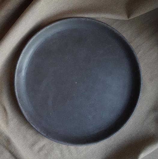 Тарелка/поднос из бетона