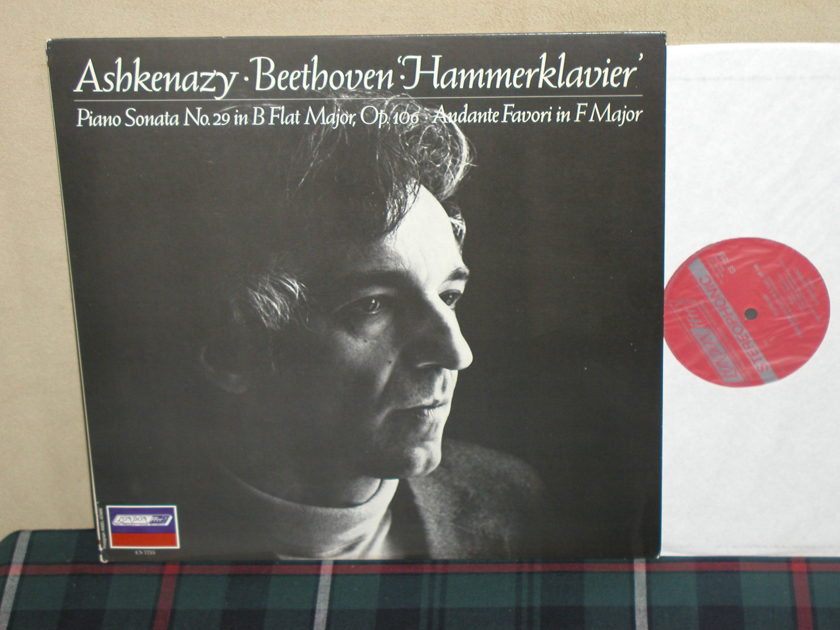 Ashkenazy - Beethoven Sonata No.29 London CS 7255/Holland press