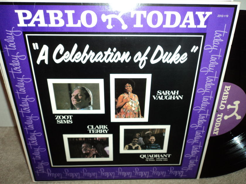 "Zoot Sims, Clark Terry, Sarah Vaughan  - ""A Celebration of the Duke""  Pablo NM"