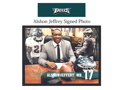 Alshon Jeffery Signed Photo