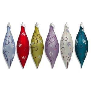 Abstract Christmas Ornaments