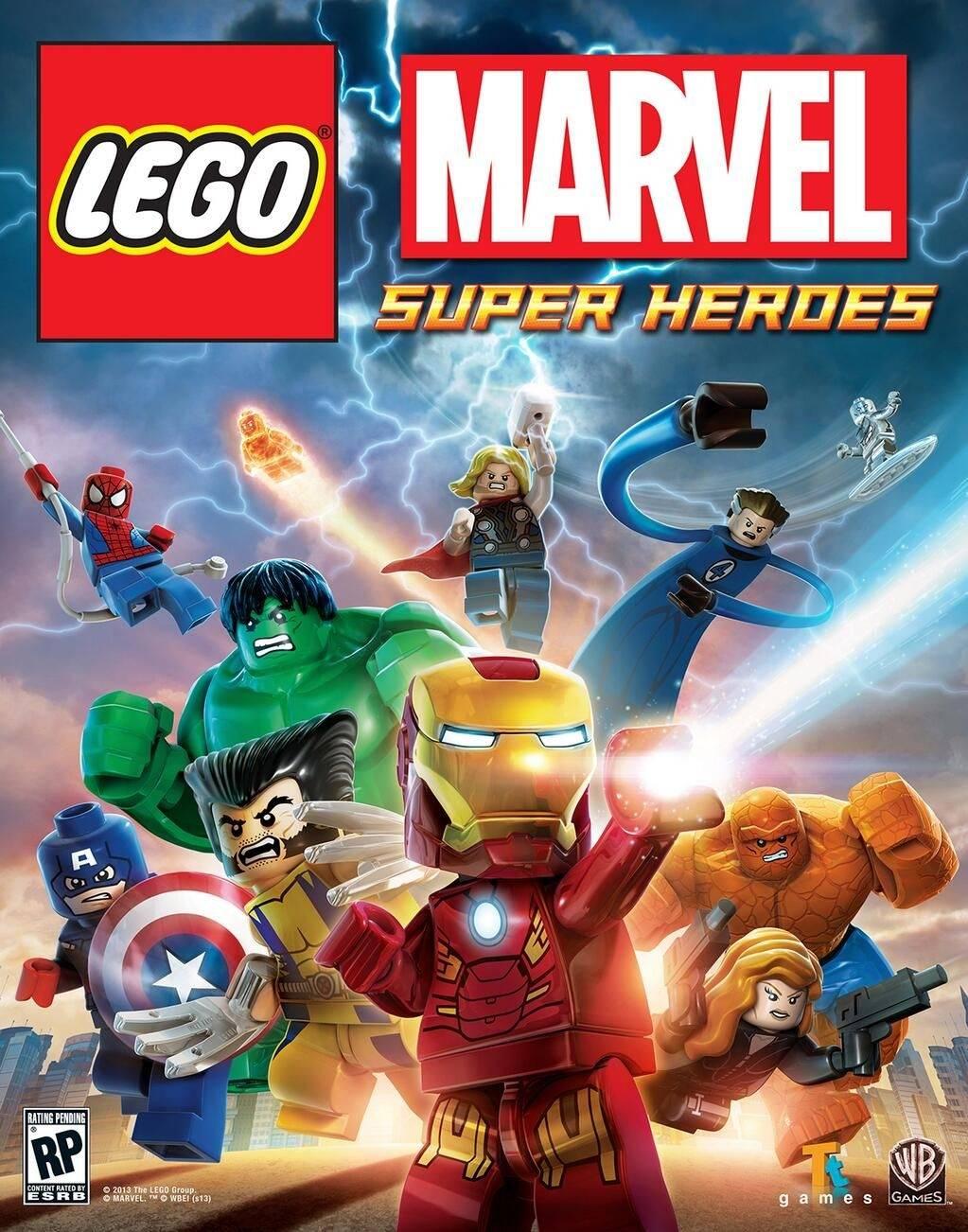 LEGO Marvel Super Heroes 2013 game