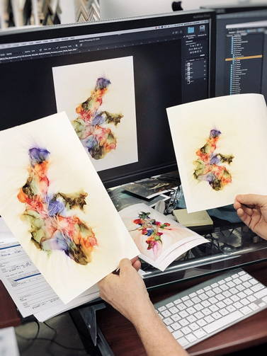 color proofing for giclee printing
