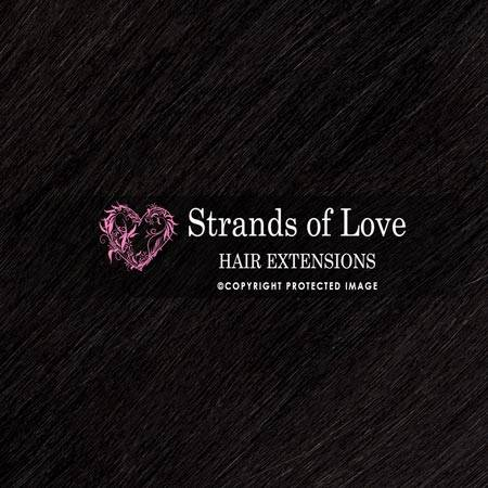 Strands Of Love Hair Extensions Colour Jet Black