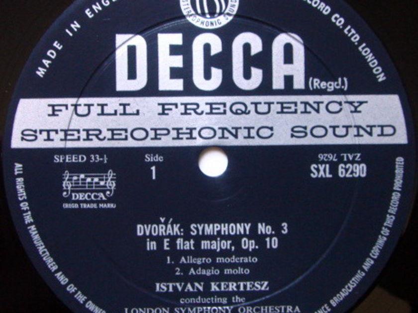 DECCA SXL-WB-ED2 / KERTESZ, - Dvorak Symphony No.3, NM!