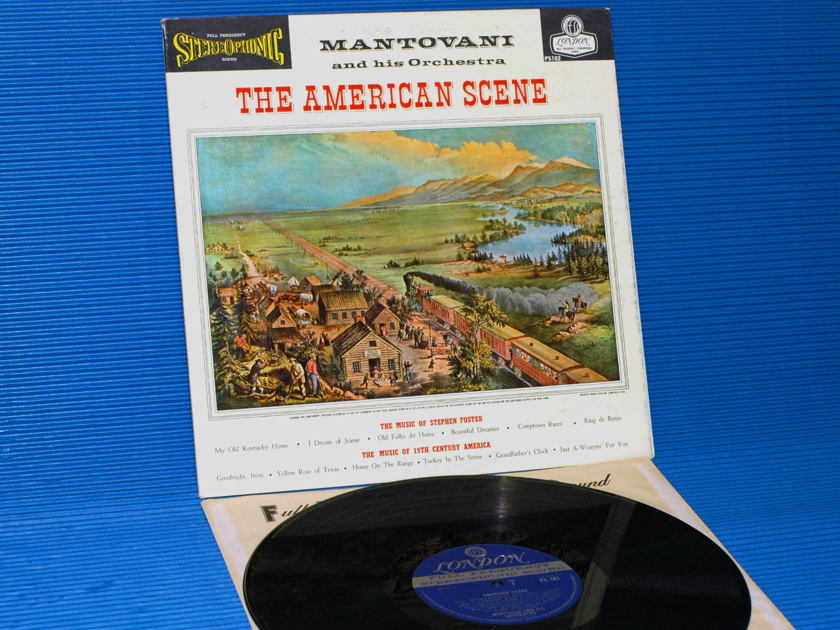 "MANTOVANI  - ""The American Scene"" -  London Blue Back 1960 1st pressing"