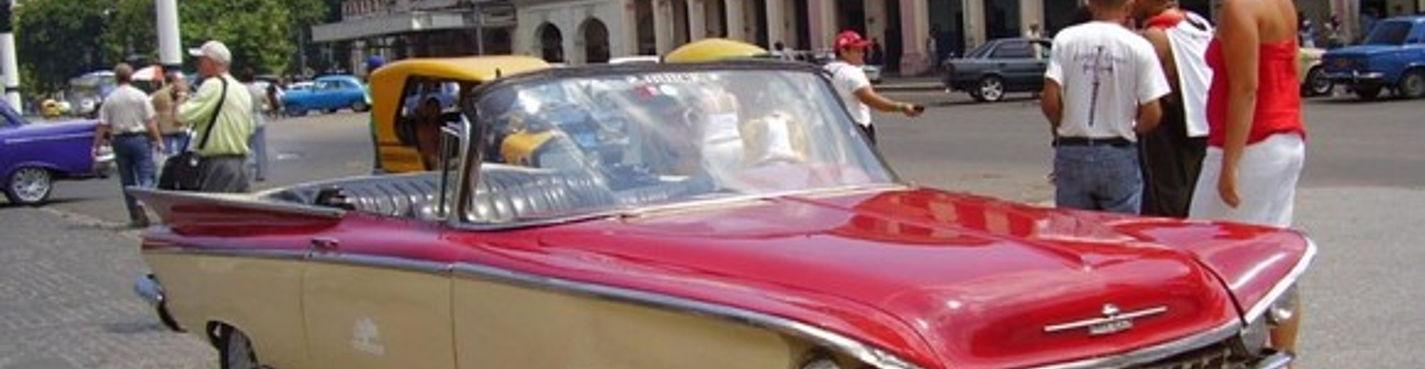 Экскурсия по Гаване на открытом кабриолете