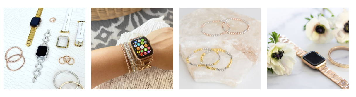 apple watch jewelry instagram. All metal bands and matching bracelets