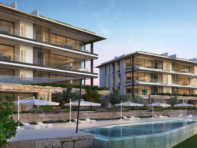 New development with sea views in Mallorca's Southwest