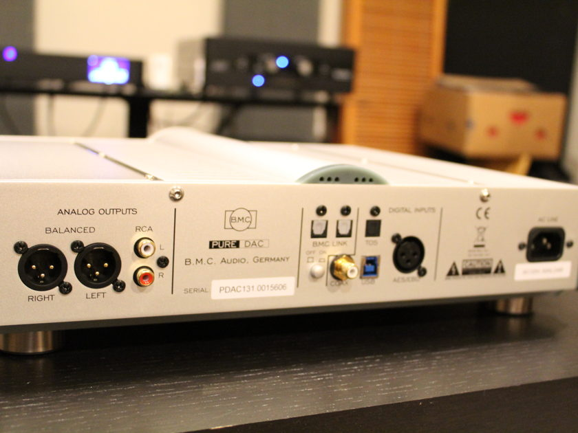 B.M.C. Audio (BMC) PureDAC Reference DAC, Fully Balanced Preamp, Fully Balanced Headphone amp