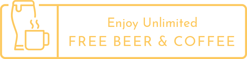 Unlimited Free Beer and Coffee