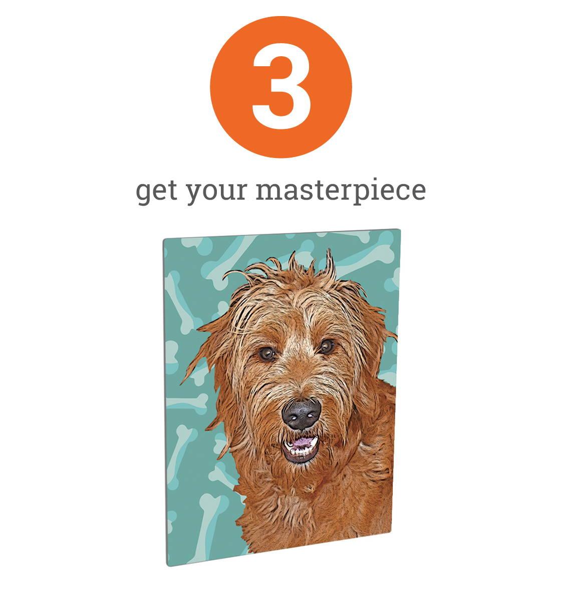 dog portrait - completed