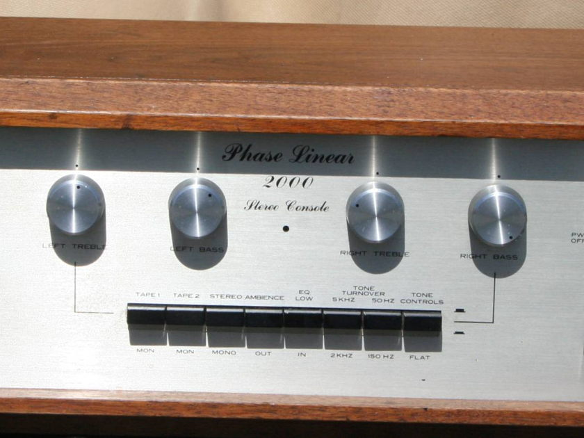 Phase Linear 2000 Preamp Classic