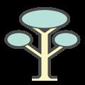 Eco Friendly Tree Icon