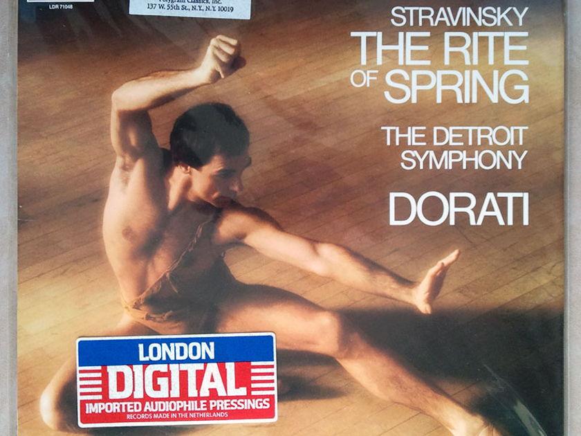 Sealed LONDON Digital | DORATI/STRAVINSKY - The Rite of Spring / Promo Copy