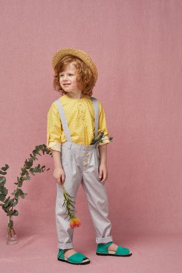 Рубашка для мальчика Илья Муромец (соты)