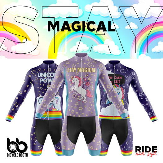 bicyclebooth cycling unicorn collection