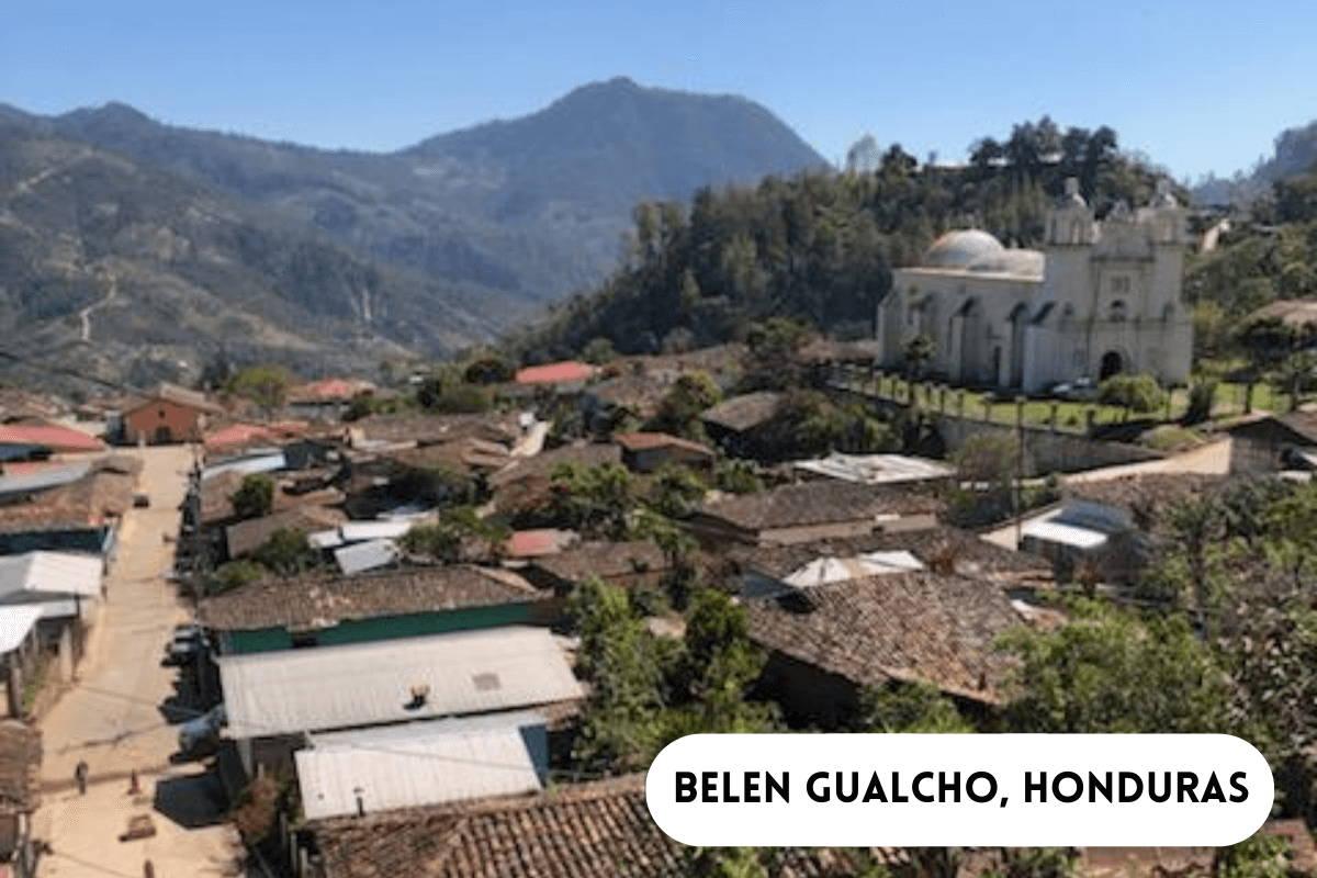 City of Belen Gualcho, Honduras