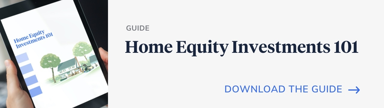 Hometap's home equity investment 101 guide