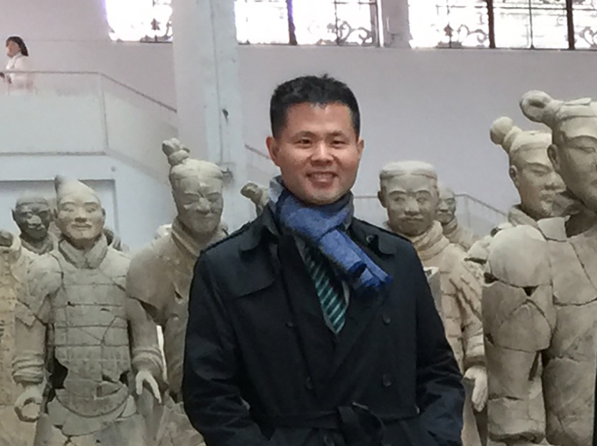Shawn Yuan with Xian Warriors