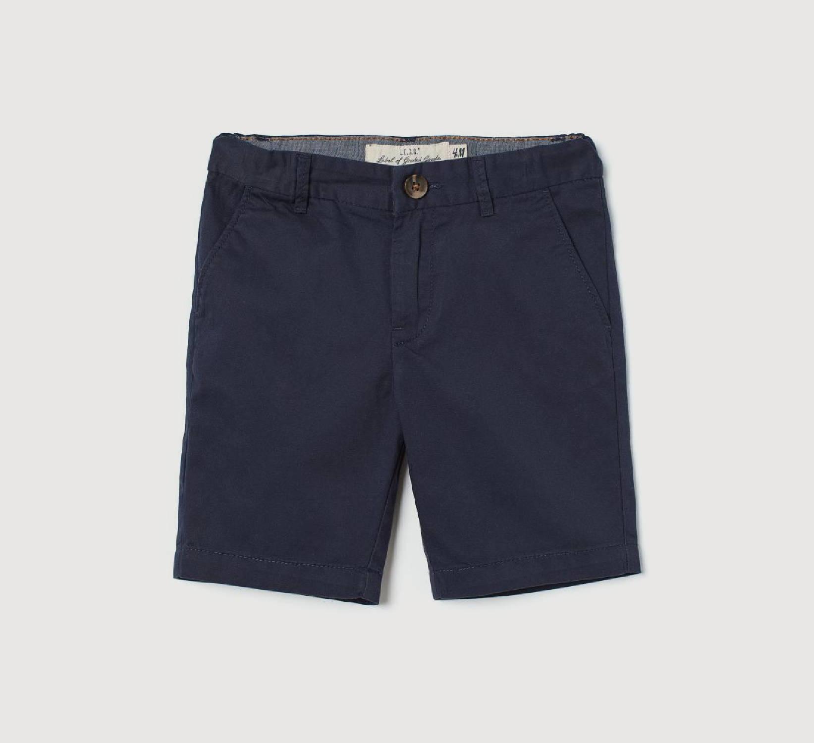 Ring Bearer Navy Shorts
