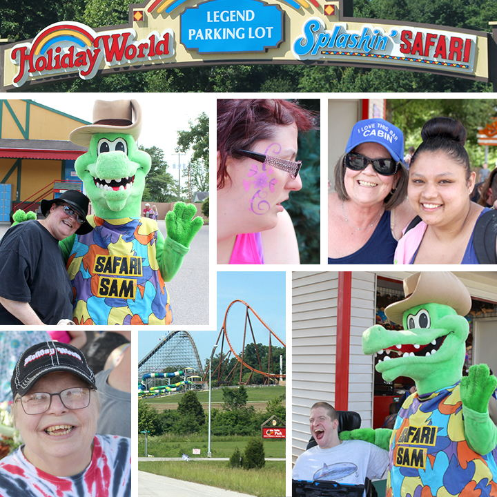 PHOTO BLOG: Clients spend day at Holiday World