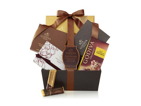 Godiva Chocolate Lovers Gift Basket