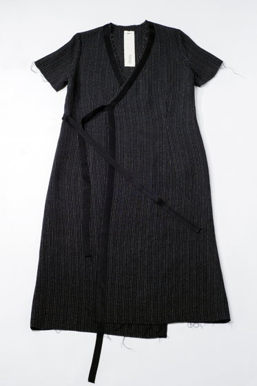 Платье с коротким рукавом One Size внесезонное
