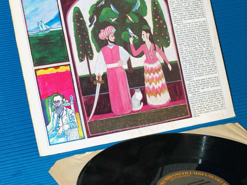 """RIMSKY-KORSAKOV/Bernstein - - """"Scheherazade"""" -   CBS Masterworks 1973"""