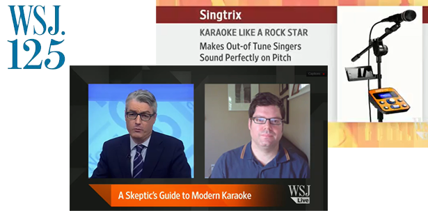 SINGTRIX KARAOKE MACHINE SYSTEM | AS SEEN ON THE WALL STREET JOURNAL