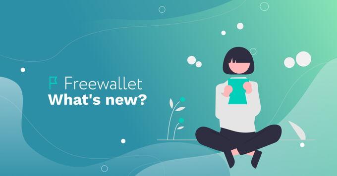 Freewallet: what's new this week?