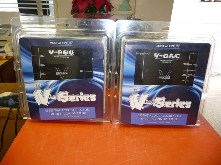Musical Fidelity  V-DAC Plus Power  Supply Upgrade