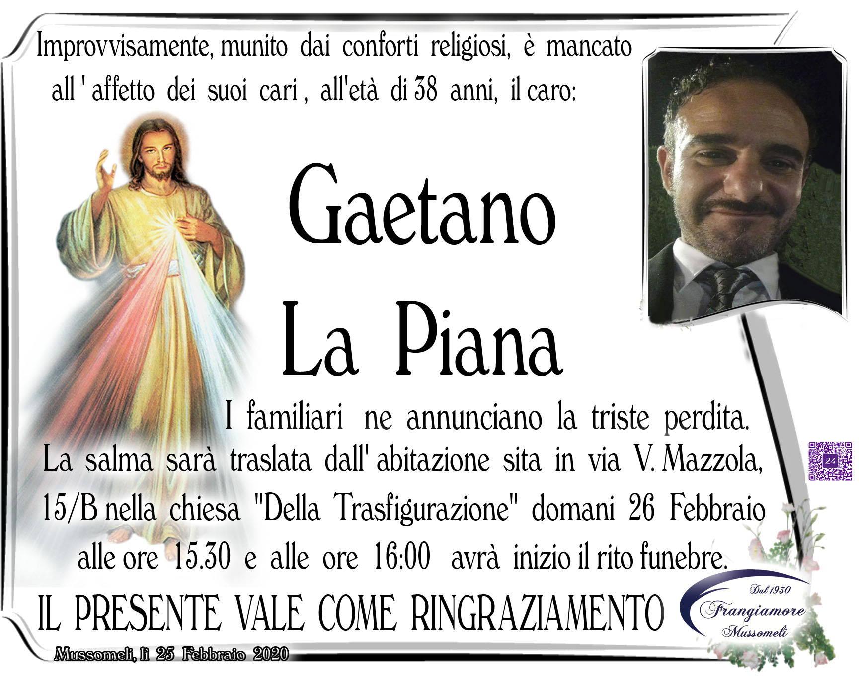 Gaetano La Piana