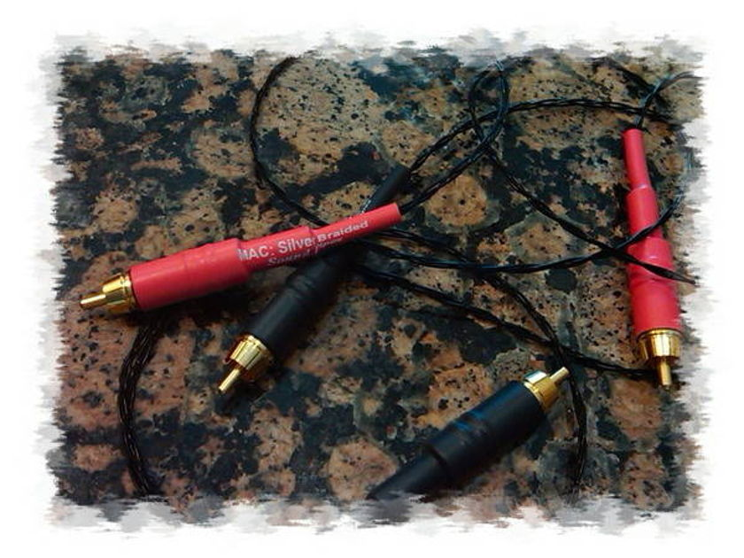 Mac Silver Braided sound pipes