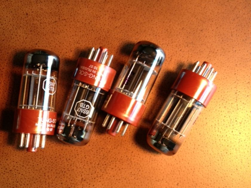 Tung-Sol 6SN7GT  6SN7GT  matched and balanced triodes