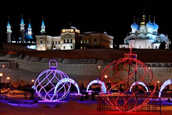 В Казань с детьми зимой — готовые идеи, куда сходить в Казани зимой