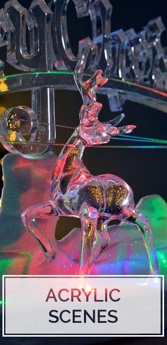 Christmas Acrylic Scenes
