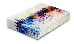 Two inch canvas wrap thickness