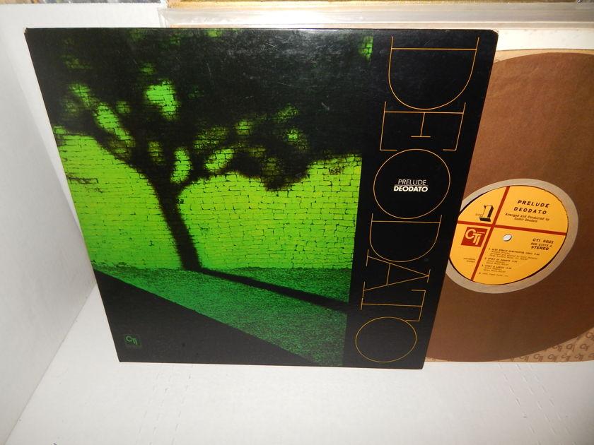 DEODATO Prelude Deodato - Stanley Clarke Billy Cobham Airto Barretto 1973 CTI 6021 Jazz Funk LP NM