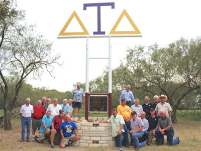 Flatonia, Texas has a Special Significance to Epsilon Lambda Alumni