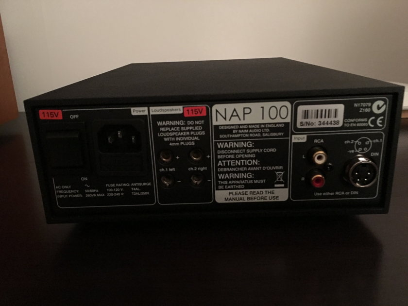 Naim Audio DAC V1 & NAP100 Mint!