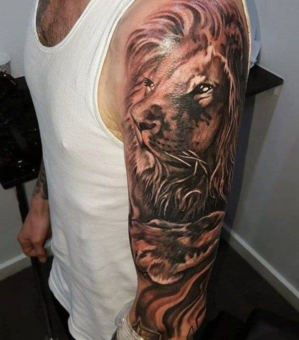 Top 150 Tatouages Lion Taniere Du Lion