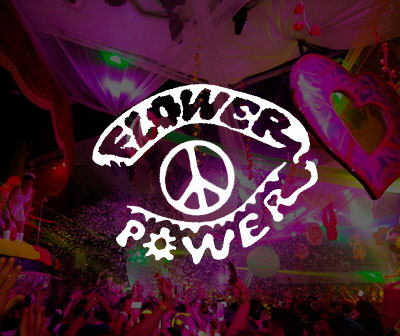 Flower power party info, party calendar Pacha club ibiza