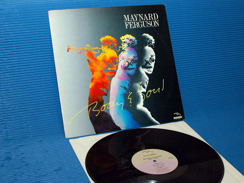 "MAYNARD FERGUSON -  - ""Body & Soul"" - Blackhawk 1986"