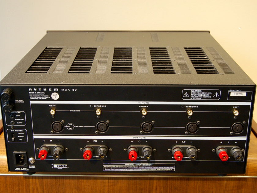 Anthem  MCA-50 5 Channel Power Amp