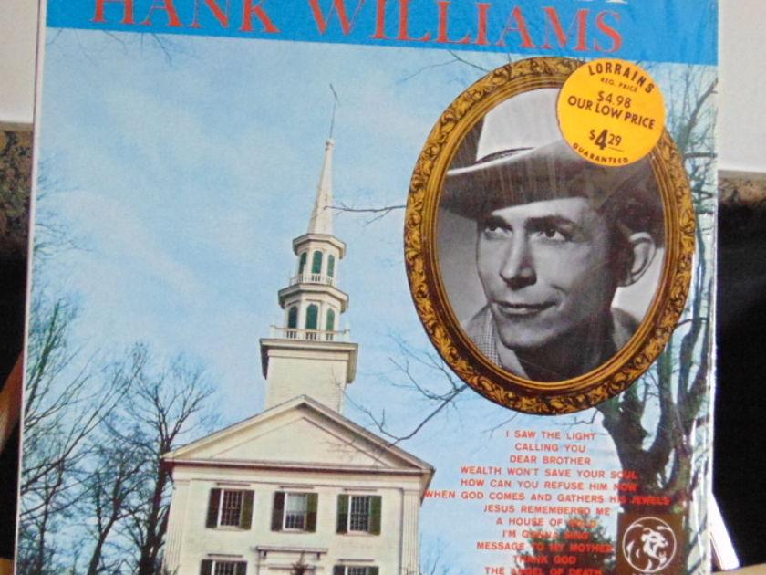 Hank Williams Sr. - I Saw The Light Near Mint.
